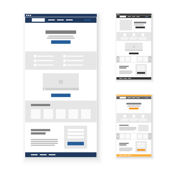 Landing Page Sales Funnel Builder